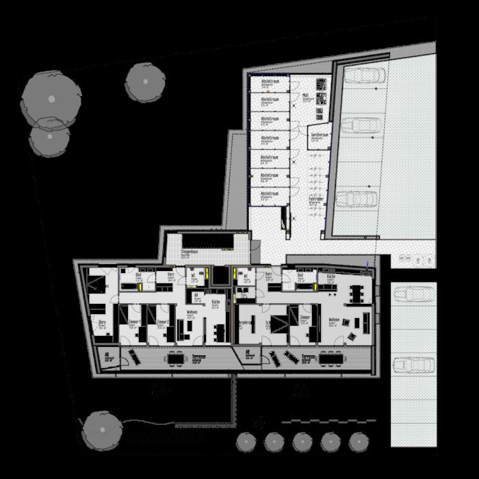 Plan Erdgeschoss Anna-Reithofer-Weg 7